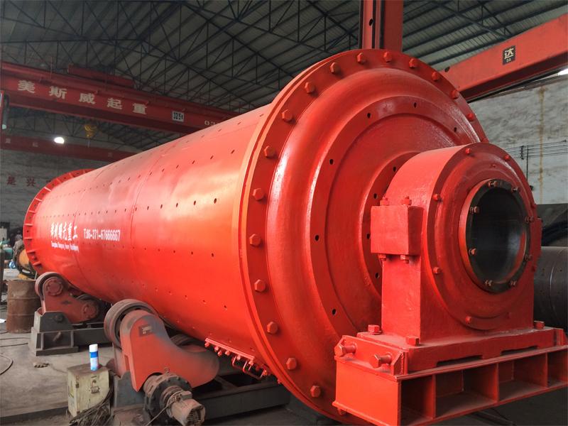 Dry ball mill