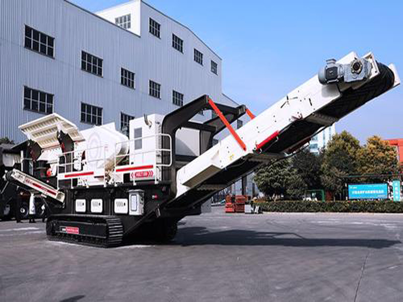 TYD crawler type mobile crushing/screening station