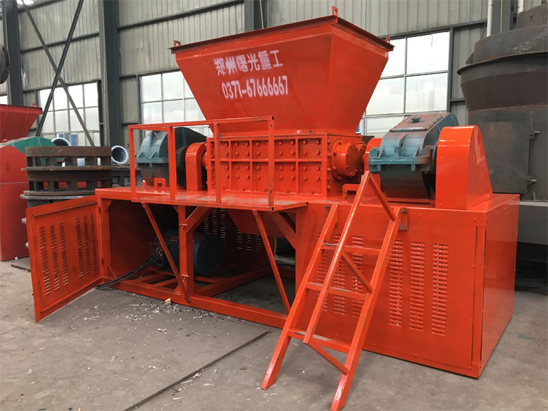 Industrial metal shredder
