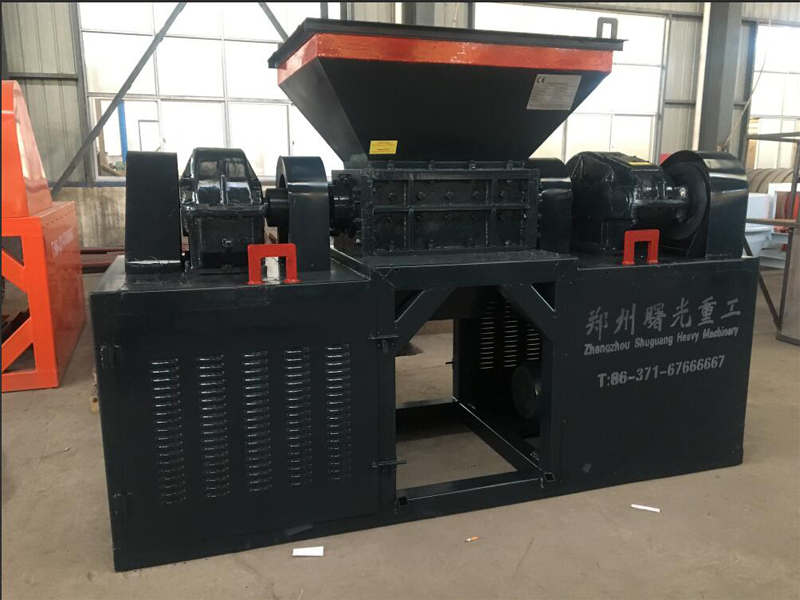 Rubber shredder machine